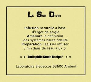 Le produit le plus populaire du laboratoire Bledeccos : un infusion étonnamment efficace...