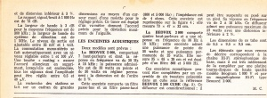 Article en forme de publi-reportage sur le système 5000 dans Le Haut-Parleur, octobre 1967