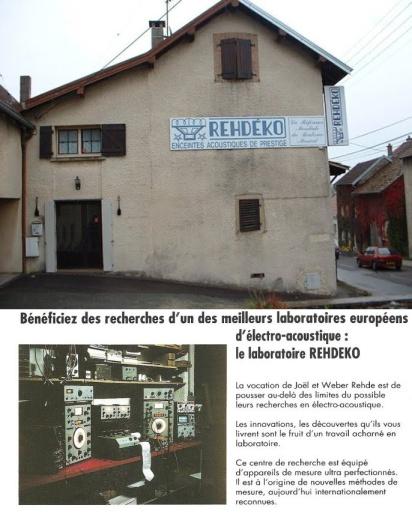 Le locaux et l'équipement très high-tech du laboratoire, usine et magasin Rehdeko.
